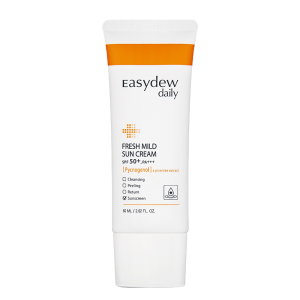 11. Easydew Daily Fresh Mild Sun Cream