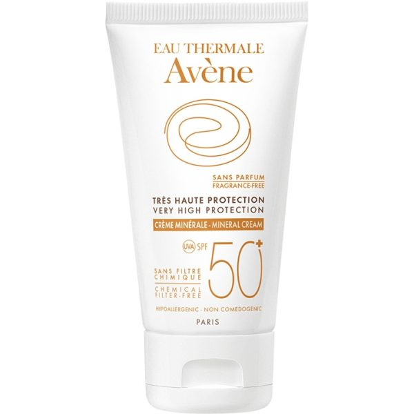 Avène Very High Protection Mineral Cream SPF 50+