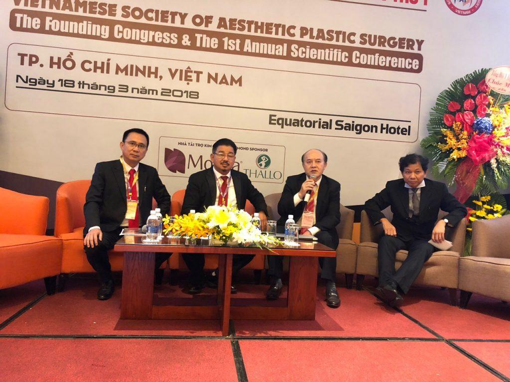 Bác Sĩ Xuân Hùng vinh dự được bầu vào Ban Chấp Hành Hội Phẫu Thuật Thẩm Mỹ Việt Nam